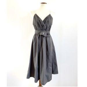 Converse One Plunging Neckline Cinch Waist dress